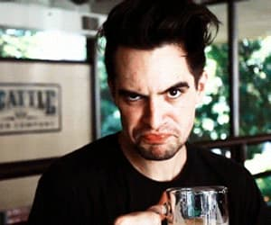 brendon urie, panic at the disco, and gif image