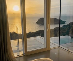 bedroom, fashion, and ocean image