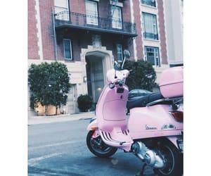 bike, pink, and california image