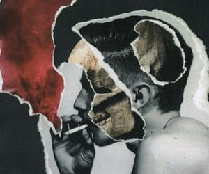 boy, cigarette, and drugs image