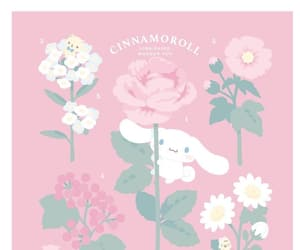 cinnamoroll, pastel, and pink image