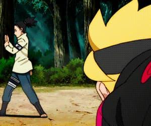 anime, konoha, and boruto image