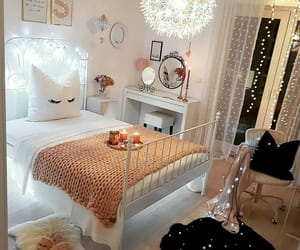 adorable, pillows, and bedroom image