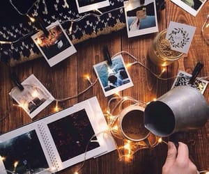 autumn, sweater weather, and polaroids image