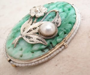 vintage brooch, etsy, and gift for her image