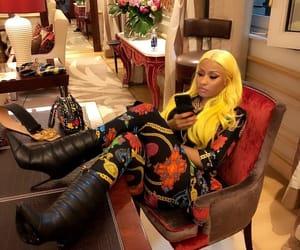 milan fashion week, Versace, and nicki minaj image