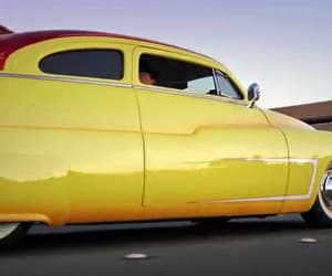 cars, vintage, and yellow image