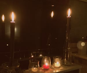 aesthetic, candles, and grunge image