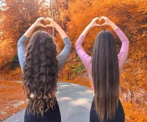 besties, bff, and curly image