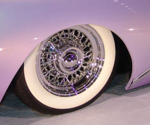 cars, lilac, and purple image