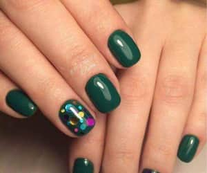 confeti, manicure, and nailart image