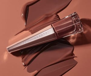 brown, cosmetics, and lipstick image