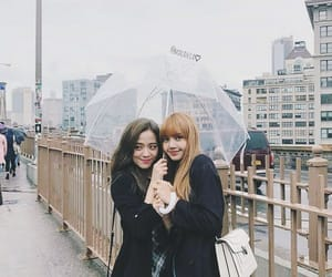 aesthetic, lisa, and rainy day image