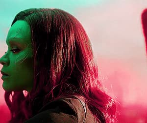gif, guardians of the galaxy, and gamora image