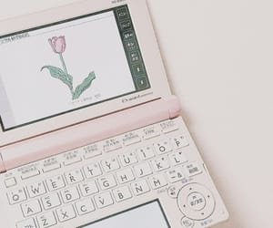 aesthetic, white, and girly image