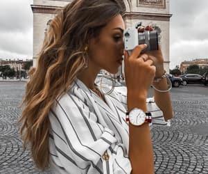 fashion, girl, and fashionista image