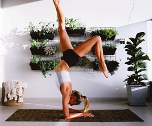 fitness, yoga, and healthy image