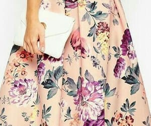 floral skirt and modest image