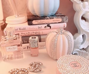 autumn, bling, and chanel image