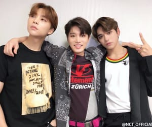 black, gold, and nct u image