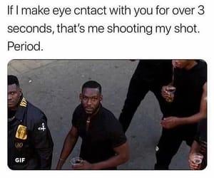 boys, crush, and eye contact image