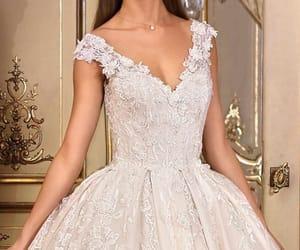 bridal, fashion, and dress image