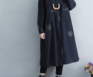 etsy, long dress, and shirt dress image