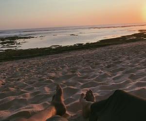 bali, beach, and chill image