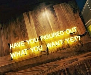 yellow, neon, and quotes image