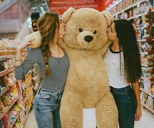 bear, bff, and cute image