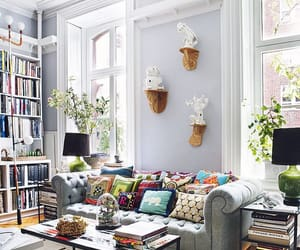 brownstone, rowhouse, and decor image