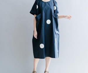 maxi dress, dark blue dress, and casual dresses image
