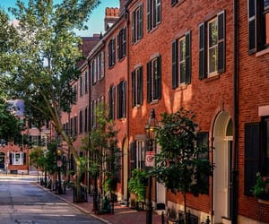 boston, brownstones, and beacon hill image
