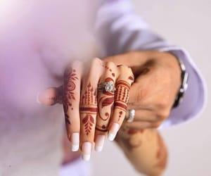 arab, arabian, and bride image