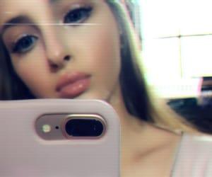 beauty, selfie, and makeup image