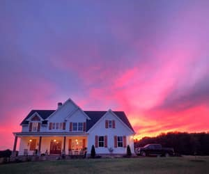 country living, evening, and dusk image