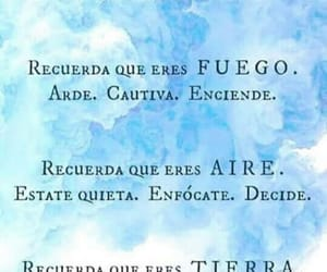 agua, tierra, and frases image