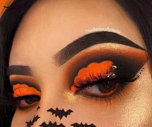 fashion, Halloween, and makeup image