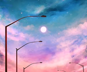art, woow, and dusk and dawn image