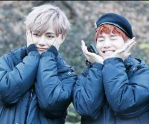 v, suga, and bts image