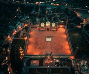 Lahore, yard, and lights image