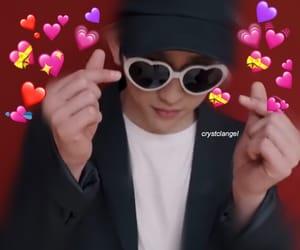 heart, JYP, and kpop image