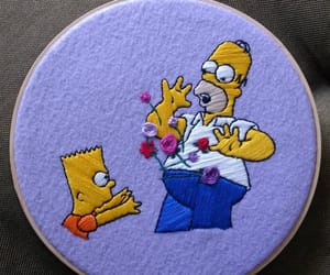 bart, Homero, and lila image