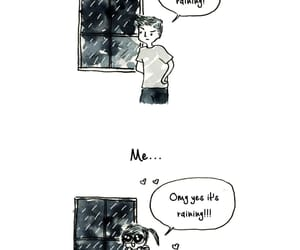 introvert, is, and rainy days image