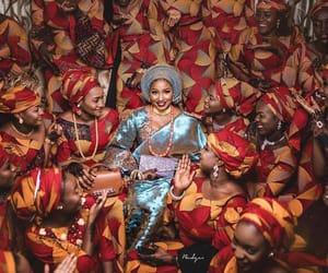 bride, nigerian, and wedding image