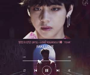 aesthetic, wallpaper, and fake love image