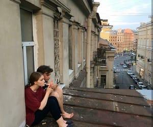 couple and cigarette image