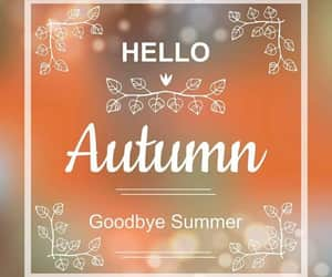 autumn and goodbye summer image