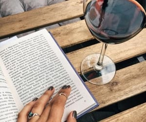 Best, reading, and wine image