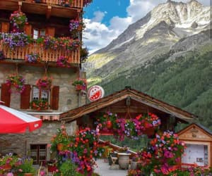 beauty, spring, and switzerland image